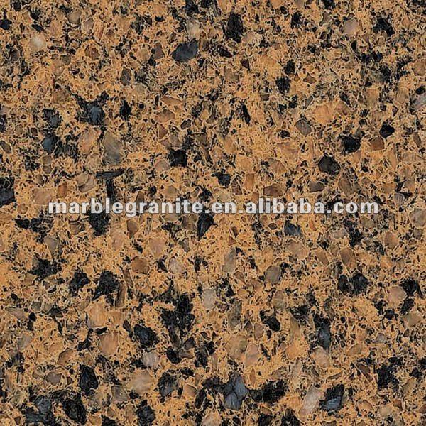 Hot Countertop Materials : Chinese Flower Hot Countertop Material Artificial Coffee Quartz Stone ...
