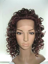 Beautiful synthetic lace front wigs for african americans