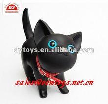 decorative plastic animated toys cat