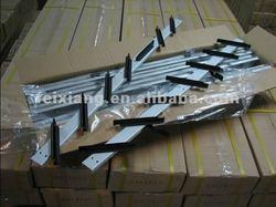 Anodized Aluminium Louver windows frame
