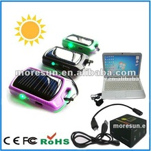 600mAh sun powered electric supercharger for all mobile phones
