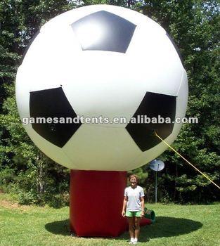2012 big advertising balloon inflatables football F1035