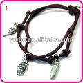 Arma charme pulseira cordão compras online ( b129927 )