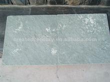 Natural green floor stone slate