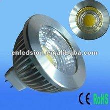 Hot Sale in 2012 HK Light Fair 5W Dimmable MR16 COB