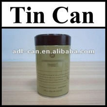 Coffee Powder Empty Tin Cans Pass SGS FDA empty metal tin cans