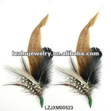 feather flower pins LZJXM00523