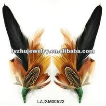 feather flower pins LZJXM00522