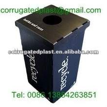 Corrugated Recycling Plastic Waste Bins