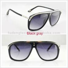 New arrival hot sell sunglasses TF3332 501 SG black gray 2012 fashion sunglasses sun shadow glasses high quality brand sun
