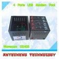 4 منافذ USB GSM / جي بي آر إس Q2403 شحن سيمكارد 900/1800MHZ النظام