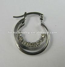 silver earrings girls 2012