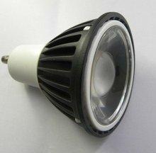 Hot sale in 2012 HK Light Fair 6W COB LED Spotlight GU10