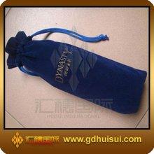 fashionable wine bottle velvet bag