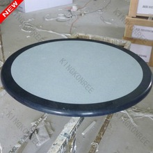 Good quality round marble/stone top dining tables