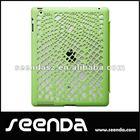 hot sale smart cover case for ipad 4 fashion mesh design green color