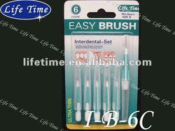 6PK interdental brush
