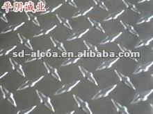 one bar chequered aluminum plate 3xxx