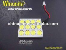 12V 12W Auto Car LED Lamp, Car Dome Light, Auto Car LED Bulb
