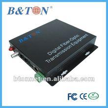 1V1E CCTV Fiber Optic Converters Video and Telephone