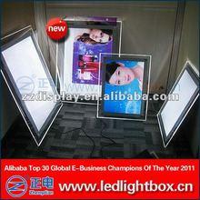 Various styles diy poster lightbox display