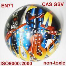 Full color printing non-toxic pvc ball/hollow pvc ball