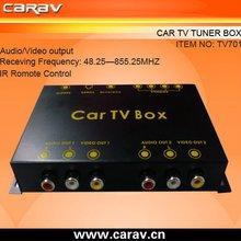 CE RoHS analog PAL tuner with 2 ways AV output