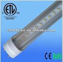 lampe led tube t8 18w 1620lm hot sale in 2012 HK fair (ETL $12.9/pc)