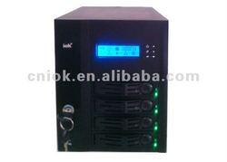 4 bays mini ITX case