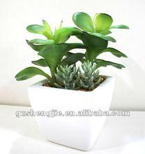 2012 new design artificial mini plant