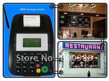 Food Order GPRS & GSM Wireless SMS Printer For Restaurant/take away/Online Shop Service