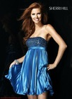 newest backless blue prom dresses 2013