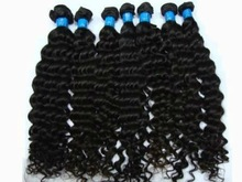 nice looking kinky curly hair remy indian with thick bottom