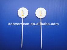 2012 promotion plastic fruit fork,fruit salad forks, small fruit fork