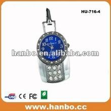 new gadget gift 2012 diamond 4gb watch usb flash drive