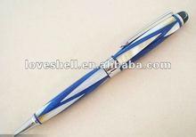 semi-precious gemstones Mother of pearl Handmade Roller ball Point Pen