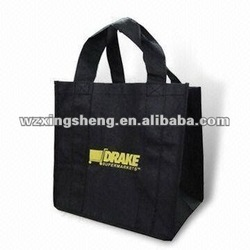 2013 free sample promotion heavy duty non-woven tote with screen printing pp nonwoven shopping bag