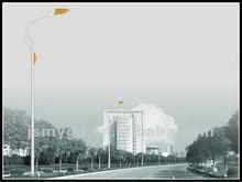 High quality and beautiful design galvanized street lighting pole