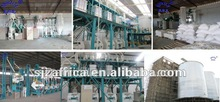 installation and test running wheat flour miling plant maize meal plant cost insurance and freight to Africa all details for mil