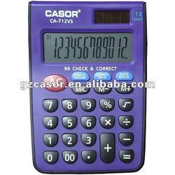 New Item No. CA-712vs ,promotional calculator, mini calculator, gift calculator