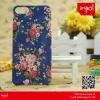HOT SALW!!! matt decal pattern case for iphone 5