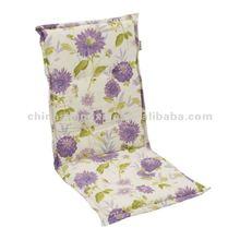 printed back cushion
