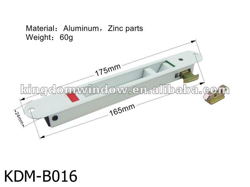 Corredera de aluminio cerradura de puerta cierre de puerta - Puerta corredera de aluminio ...