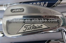 Complete Forged Iron Golf Set Solid Feel Right Hand Regular Flex Carbon Steel Shaft with Headcover