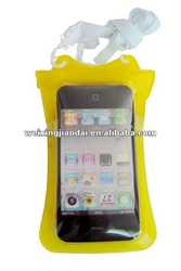 PVC waterproof bag for IPHONE4