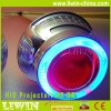 hid bixenon projector lens light blue angel eye and red devil eye