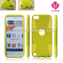 for ipod touch 5 mesh combo case