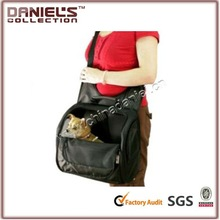 sofe gray pet shoulder bag easy travel out