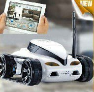 New Design! Wifi Remote Controlled Toy Car With Camera 777-287 RC Tank