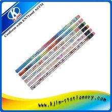 beautiful cute wood color pencil trade export